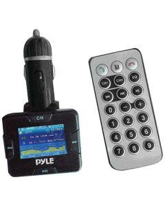 Pyle PLMP3C31B Wireless USB/SD Card FM Modulator/Transmitter with Bluetooth® Hands Free Kit