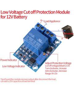 QMV 12VLVR1 12 VDC Low voltage cutoff relay
