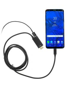QMV HDMIV-C 6 foot USB-C To HDMI Digital AV Adapter for Android Phone Mirroring