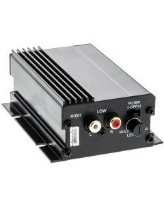 Quality Mobile Video HMA100 Compact 2-Channel Class-D  Power Amplifier -
