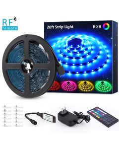 Quality Mobile Video LS6M5050RF 20 Foot Flexible Full Color LED Light Strip Kit with IR remote control