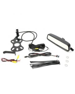 Quality Mobile Video 2007 - 2015 Jeep Wrangler Rear View Back Up Camera - Entire kit