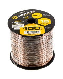 Metra RSW16-100 16 Gauge 100 Ft Clear Speaker Wire