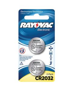 Rayovac CR2032 3-Volt Lithium Battery - 2 battery Package