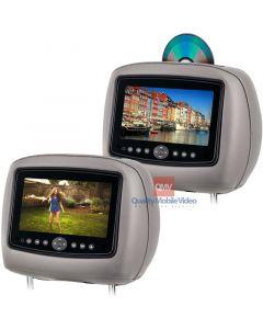 Rosen CS9000 DVD Headrest for Ford Edge - Main