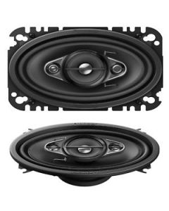 Pioneer TS-A4670F 4 x 6 inch 4-Way Car Speakers