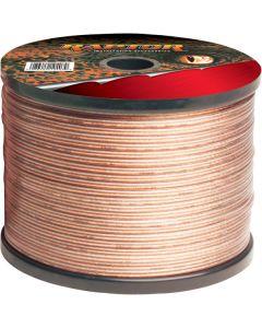 Metra Raptor RSW14-50 18-Gauge 50 Ft Clear Speaker Wire