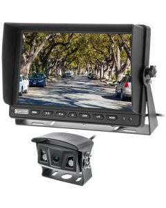 """Safesight-RM-1018AHD 10"""" 1080P Commercial Back up monitor with sun shade - 2 AHD Video inputs"""