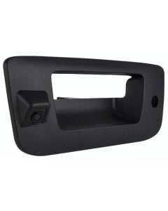 "Safesight RVCGTGCHD 1/3"" CCD Tailgate Handle Back Up Camera For 2007 - 2014 Chevrolet / GMC Pickup Trucks - Black"