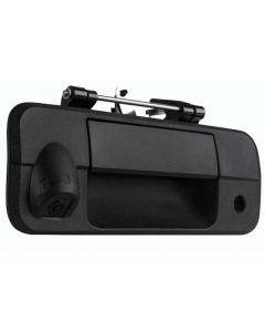 "Safesight RVCTUTGCHD 1/3"" CCD Tailgate Handle Back Up Camera For 2007 - 2013 Toyota Tundra - Black"