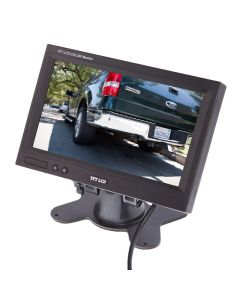 Safesight SC7103 7 inch LCD monitor with headrest shroud - Main