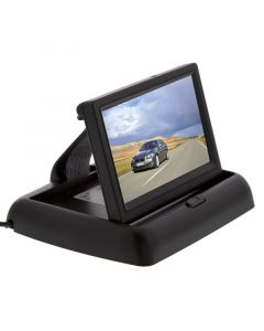 Safesight TOP-043LE Universal Pop up Monitor for Reverse Back Up Camera