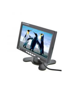 Clarus by Safesight TOP-SS-007D 7 Inch LCD monitor - Left Front Perspective View