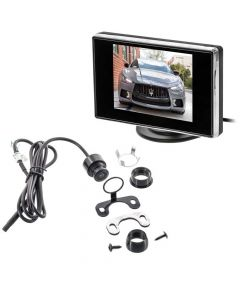 """Safesight TOP-SS-BUPKG1 3.5"""" Back up monitor with micro flush mount reverse camera"""