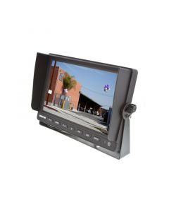 """SafeSight TOP-SS-D1004 10"""" Commerial Back up camera monitor - Right front perspective"""
