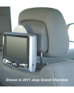 2011 Chrysler 200 Rosen AV7700 Seat back mounted DVD system for Active Headrests