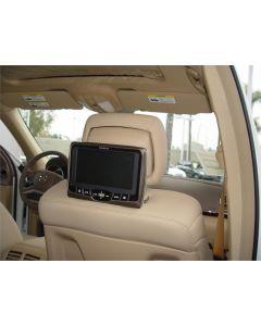2010 Mercedes R350 Rosen AV7700 Seat Back Mounted DVD System