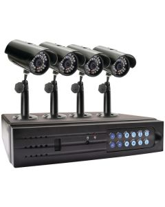 Swann SWA43-D1C2 4-Channel DVR with 4 Indoor/Outdoor Cameras