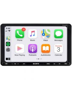 "Sony XAV-AX8000 Single DIN Digital Receiver with 8.95"" Touchscreen Adjustable Display, Apple Carplay and Android Auto"