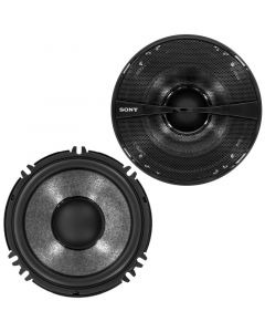 Sony XS-GS1621 2-Way 6-1/2 inch Coaxial Speakers with Soft Dome Tweeters, Bi-amp Design - Main
