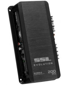 Sound Storm (SSL) EV2002 Evolution Series 200 Watt 2 Channel Power Amplifier with High-Low Crossover
