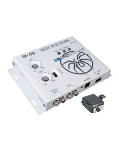 Soundstream BX-10W Digital Bass Reconstruction Processor with Dash Mount Remote Control - White