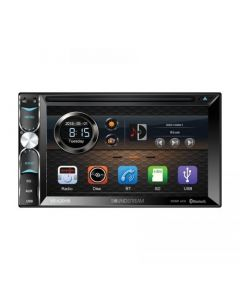 """Soundstream VR-620HB 6.2"""" Double DIN DVD Receiver with Bluetooth 4.0 & Android PhoneLink"""