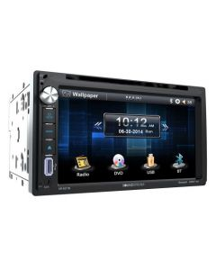 "Soundstream VR-651B 6.5"" Double DIN DVD/CD Receiver with Bluetooth"