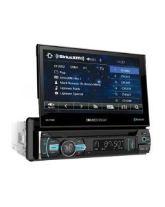"""Soundstream VR-75XB 7"""" Single DIN Flip Up DVD Receiver with Bluetooth 4.0 and SiriusXM Ready - main"""