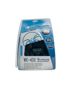 Soundstream WK-40X 4 Guage Car Amplifier Wiring Installation Kit