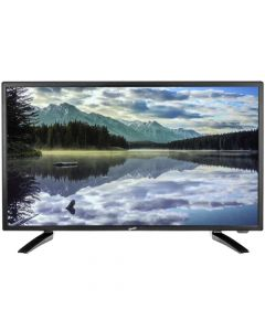 """SuperSonic SC2412 24"""" HD LED TV and DVD Combo with AC/DC power adapter"""