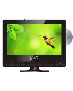 """SuperSonic SC1312 13.3"""" HD LED TV and DVD Combo with AC/DC power adapter"""