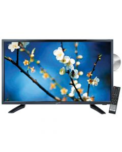 """SuperSonic SC2212 22"""" HD LED TV and DVD Combo with AC/DC power adapter"""