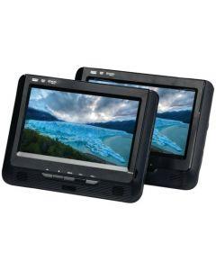 """Sylvania SDVD9960 9"""" Dual-Screen Single Portable DVD Player"""