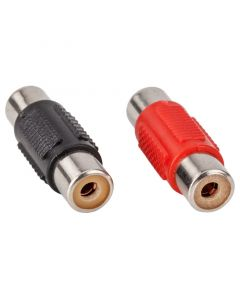 T-Spec V6RCA-BFNN Universal Nickel Adapter with Female to Female Connectors - Main