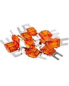 T-Spec V8-MANL150-10 Pack of 10 V8 Series 150 Ampere Nickel Plated MANL Fuses