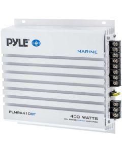 Pyle PLMRA410BT Elite Series Waterproof 400-Watt Marine Class AB Amp with Bluetooth (4 Channels) - main