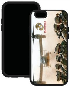 "Trident AG-API647-BKK03 Marines Troops iPhone 6 4.7"" Aegis Series Case - Main"