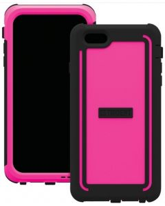 Trident CY-API655-PK000 iPhone 6 Plus Pink Case - Front and back
