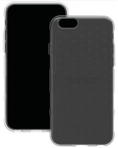 """Trident PS-API647-SM000 iPhone 6 4.7"""" Perseus Series Case - Gray-front and back"""