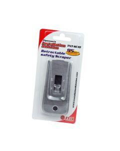 Nippon America TNT-SC10 Retractable safety Scraper with Single Edge Razor Blade
