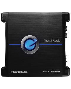 Planet Audio TR1500.1M Torque Series 1500 Watt Class AB Monoblock Car Audio Amplifier