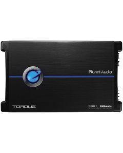 Planet Audio TR2000.2 Torque Series 2600 Watts Class AB 2 Channel Car Audio Amplifier