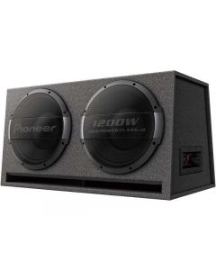 """Pioneer TS-WX1220AH Dual 10"""" Ported Subwoofer Enclosure with Built-in Amplifier"""