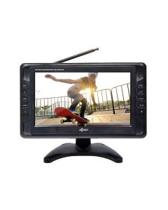 "Axess TV1703-10 10"" Rechargeable Portable TV - Main"