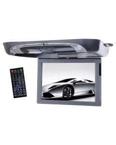 "Tview T1591DVFD 15"" Overhead Flip Down Monitor with Built In DVD Player"