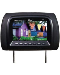 """Tview T726PL-BK 7"""" Replacement Headrest with 2-Video Inputs"""