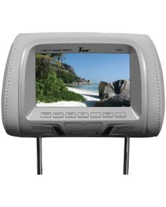 """Tview T726PL-GR 7"""" Replacement Headrest with 2-Video Inputs"""