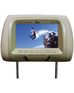 """Tview T726PL-TN 7"""" Replacement Headrest with 2-Video Inputs"""