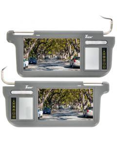Tview T93SV Sun visor monitors - Main